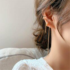 [925銀針】超酷耳扣耳饰