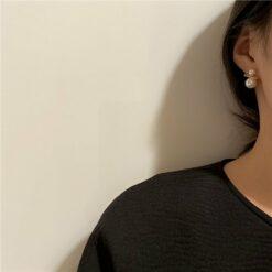 [925銀針]大小珍珠耳釘耳環
