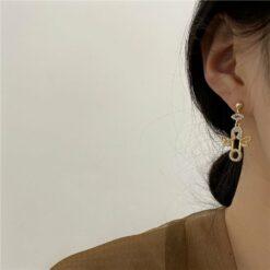 [925銀針]小天使耳釘耳環