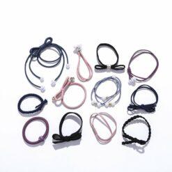 12件套森女系頭繩