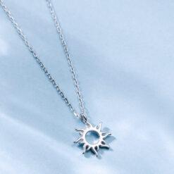 [925銀]小眾太陽鎖骨鏈
