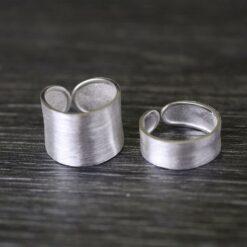 [[s925純銀]主君的太陽寬窄面戒指