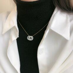 [925純銀]氣質百搭三圈項圈鎖骨鏈