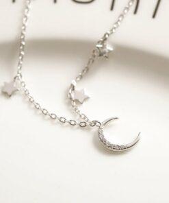 [925純銀]月亮星星美少女戰士手鏈