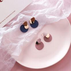 [925銀針]時尚不規則設計耳環