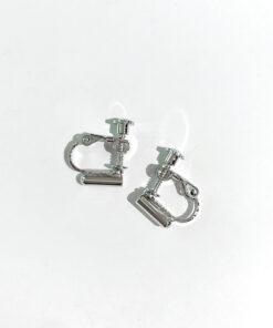 DIY耳釘改耳夾轉換器螺旋可調節