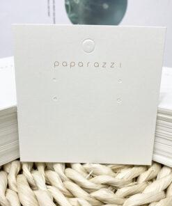 [現貨紙卡]100張燙金paparazzi耳環項鏈紙卡