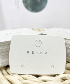 [現貨紙卡]100張reina耳環卡