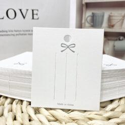 [現貨紙卡]100張髮夾髪繩包裝卡
