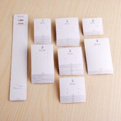 [現貨紙卡]100張一組(帶掛勾)925銀飾紙卡