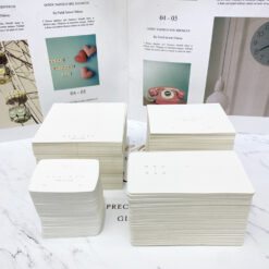 [現貨紙卡]NyuNyu飾品100張耳環紙卡