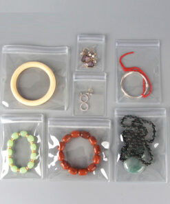 50只起售--透明PVC飾品密封防氧化收納袋