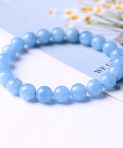 [海藍寶]圓珠手鍊