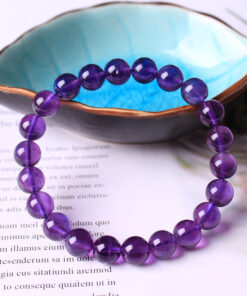 [紫水晶]烏拉圭濃紫色品質手鍊
