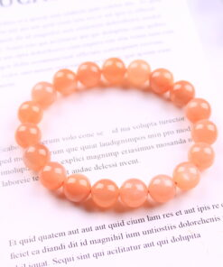 [橙月光+太陽石]帶貓眼顏色艷手鍊手串