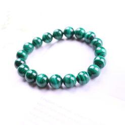 [孔雀石]無染色綠色水晶手串手鍊