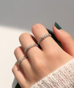 [925純銀]時尚氣質綁帶戒指