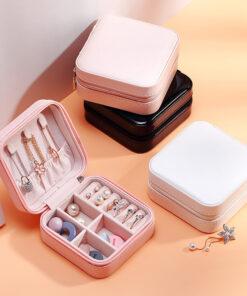 單層耳釘耳夾飾物盒