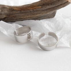 [925純銀]極簡光圈戒指