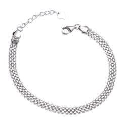 [925純銀]簡約百搭鏈條手鏈