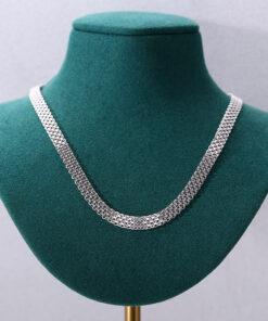 [925純銀]小眾設計鏈條項鏈