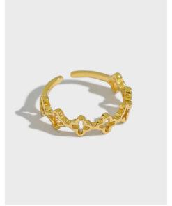 [925純銀]小眾光面細戒指