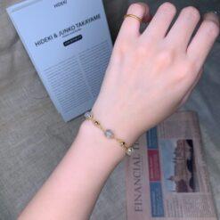 [天然水晶]冷淡風小眾輕奢設計手鍊
