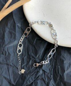 [925純銀]簡約鏈條手鍊