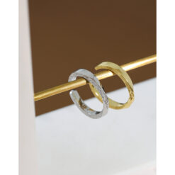 [925純銀]小眾磨砂戒指