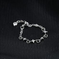 [銅]抽拉式四芒星戒指