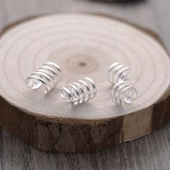 [925純銀]三圈耳夾