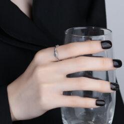 [銅]纏繞幾何繩結戒指