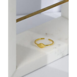 [925純銀]設計感惡魔之眼戒指