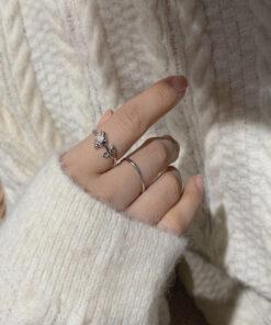 [銅]玫瑰花戒指