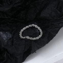 [銅]鏈條滿天星戒指