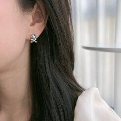 [925純銀]復古做舊生肖小牛耳扣