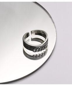 [925純銀]復古做舊錢幣戒指