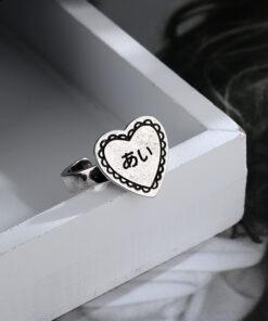 [銅]復古愛心戒指
