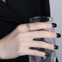 [銅]森系小鯨魚戒指