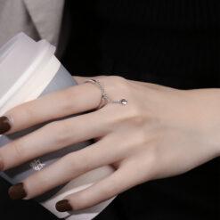 [銅]豆豆鏈條戒指