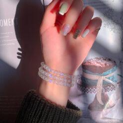 [藍月光]藍光潔白手串手鍊