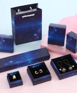 ins星空耳環戒指飾品包裝