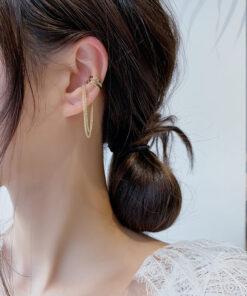 [耳骨夾]個性多層鏈條耳骨夾