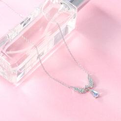 [925純銀]氣質天使之翼項鏈